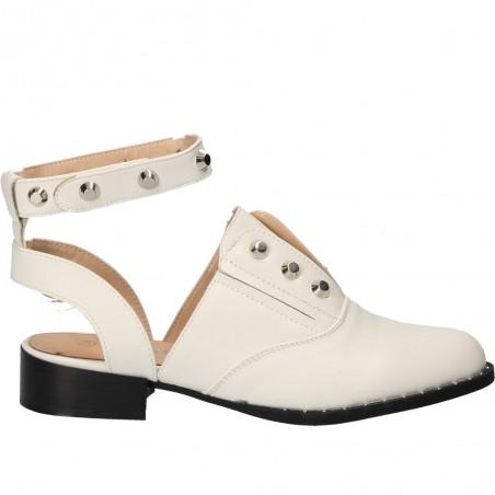 Pantofi de vara, fashion, decupati in spate