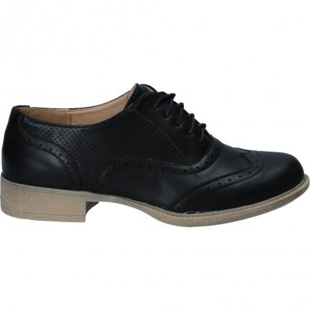 Pantofi Oxford, de dama, din piele ecologica