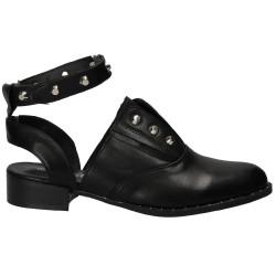 Pantofi de vara negri, cu...