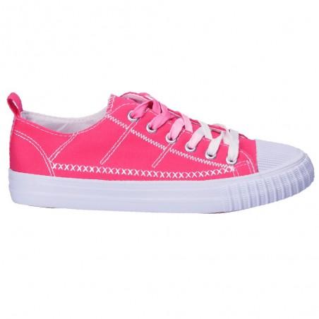 Tenisi trendy, roz inchis, pentru femei