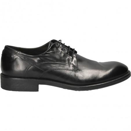 Pantofi barbatesti negri din piele naturala