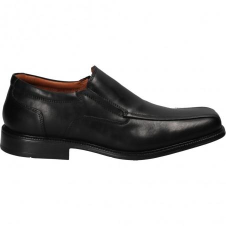 Pantofi barbatesti fara siret, din piele naturala