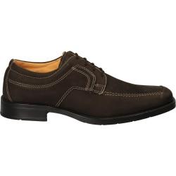 Pantofi office maro, din...