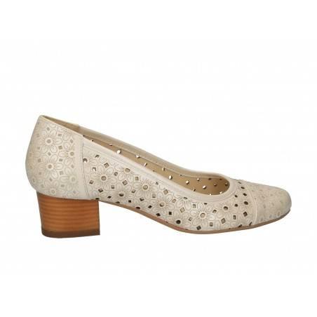Pantofi din piele, stil elegant, pentru femei