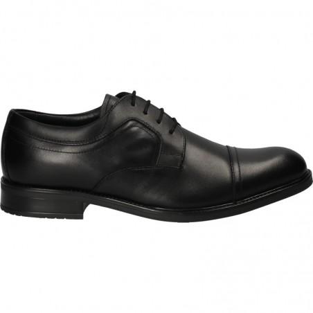 Pantofi negri, de gala, din piele, pentru barbati