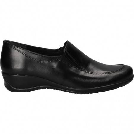 Pantofi de dama, din piele, platforma mica