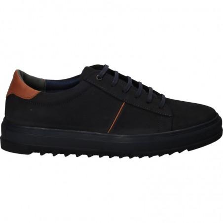 Pantofi din piele, stil sport, pentru barbati