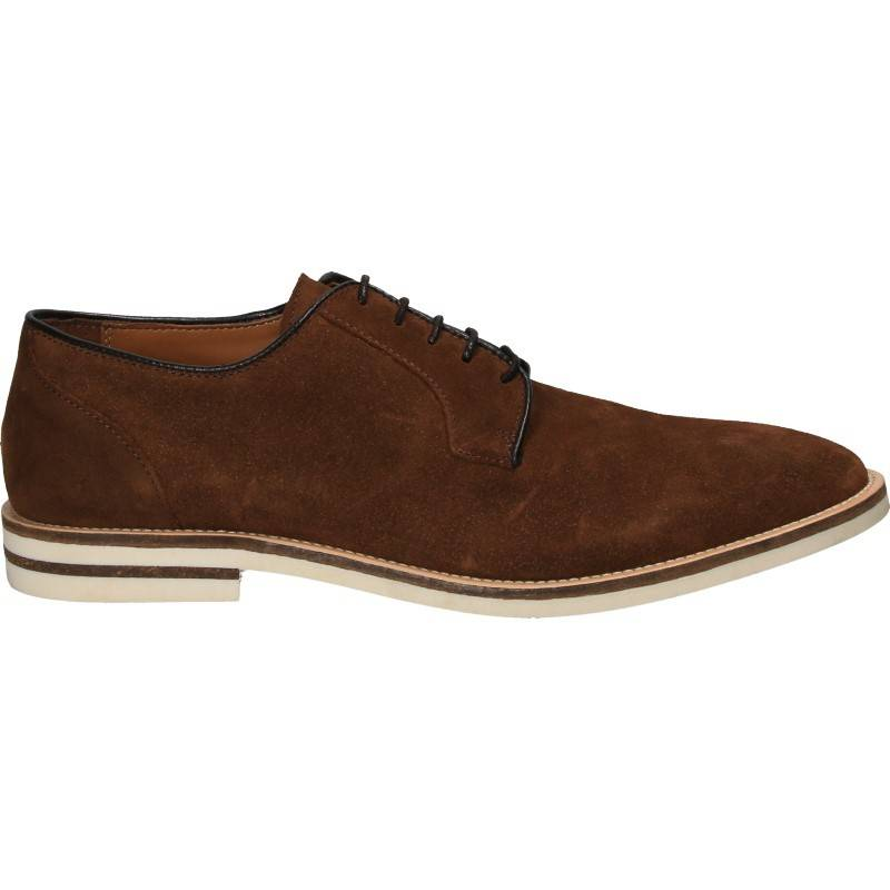 Pantofi sport elegant, velur, pentru Barbati