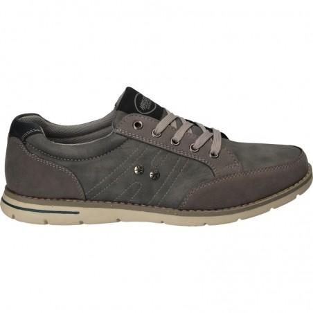 Pantofi casual gri, pentru barbati