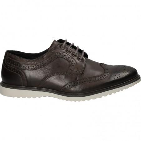 Pantofi Oxford, barbatesti, din piele naturala