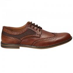 Pantofi Oxford, maro,...