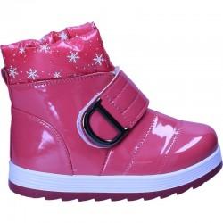 Cizme roz de lac pentru fete