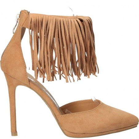 Pantofi de vara, fashion, cu franjuri