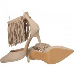 Pantofi de vara cu franjuri
