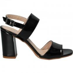 Sandale negre, de lac,...