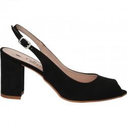 Sandale negre, elegante,...