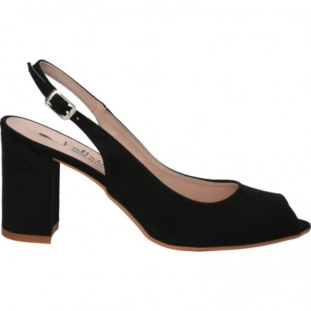 Sandale negre, elegante, marca Felix 65