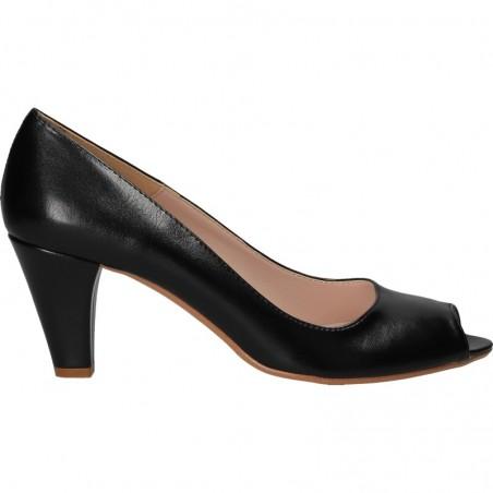Pantofi de vara, eleganti, decupati in fata