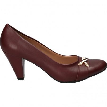 Pantofi office de dama, cu toc mediu
