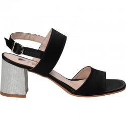 Sandale elegante din satin