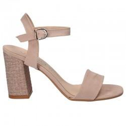 Sandale roz, de gala