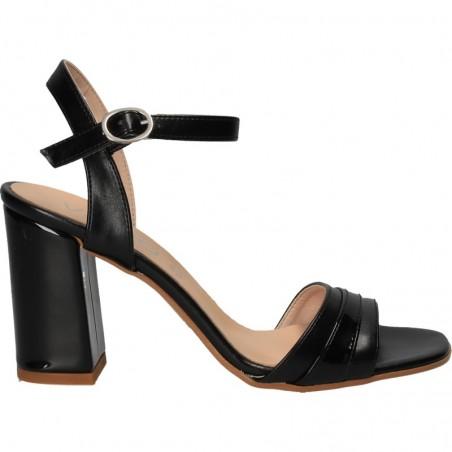 transport gratuit foarte ieftin cea mai nouă colecție Sandale elegante, cu toc mediu, MADE IN ITALY