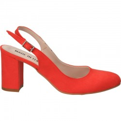 Pantofi eleganti coral