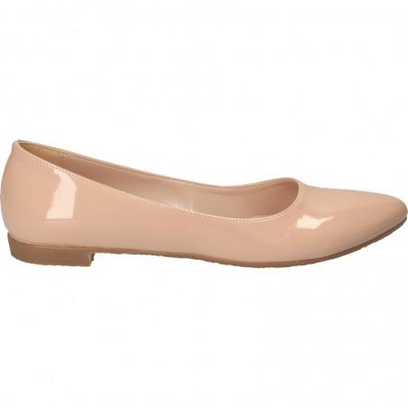 Balerini fashion, roz, de lac, pentru ținute smart