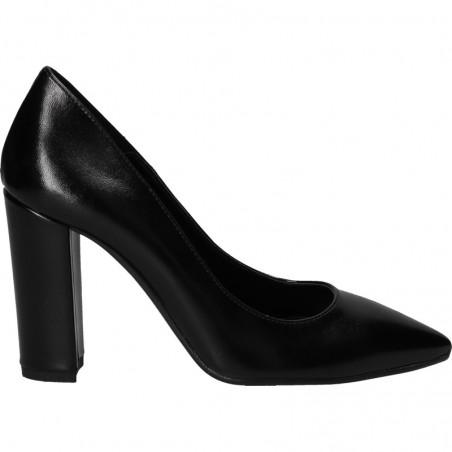Pantofi femei, de gala, negri, cu toc inalt