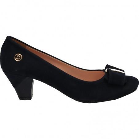Pantofi glamour, cu funda si toc mediu