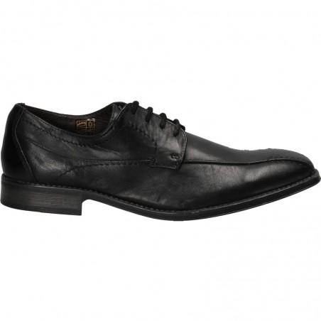 Pantofi barbati, clasici, negri, piele naturala