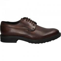 Pantofi maro piele barbati