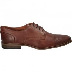 Pantofi maro din piele