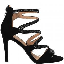 Sandale glamour, toc inalt