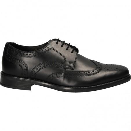 Pantofi piele naturala, stil Oxford, pentru barbati