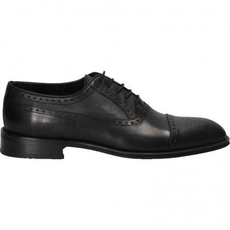 Pantofi Oxford barbati, din piele naturala