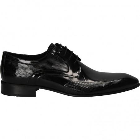 Pantofi de lac barbatesti, piele naturala
