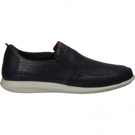 Pantofi barbati, moderni, fara siret, piele naturala