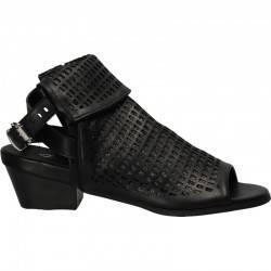 Sandale negre de dama