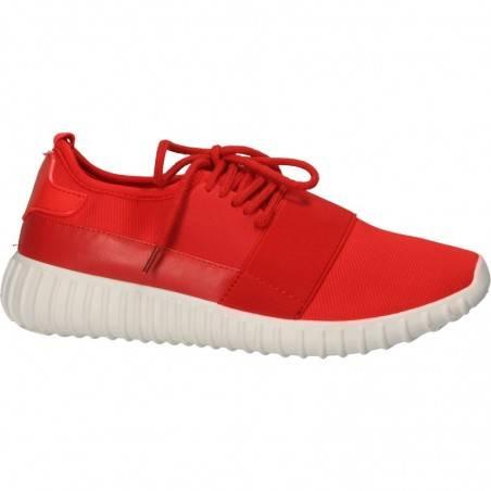 Pantofi de sport, barbatesti, culoarea rosie