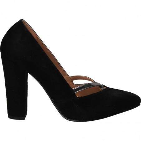 Pantofi fashion, negri, pentru femei