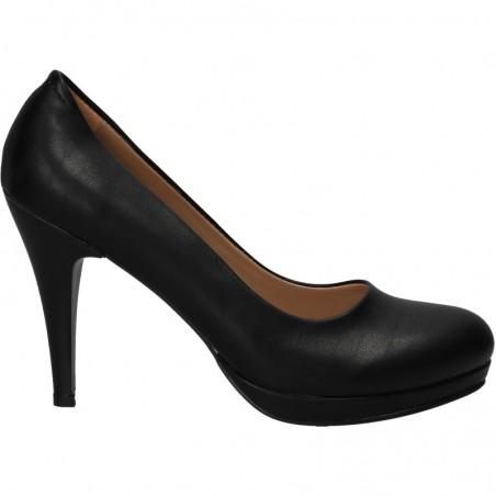 Pantofi negri, de dama, stil elegant