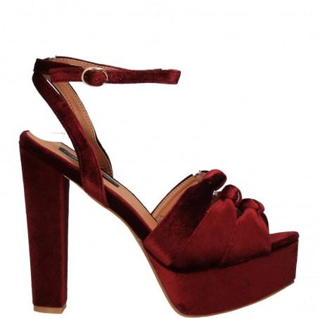 Sandale elegante, de dama, cu toc masiv