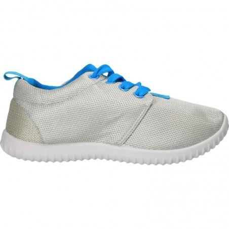 Pantofi textili, culoarea gri, pentru copii
