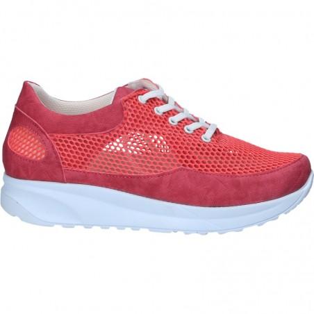 Pantofi trendy, cu plasa si platforma medie