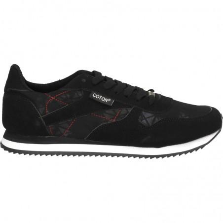 Pantofi trendy, sport, negri, pentru barbati