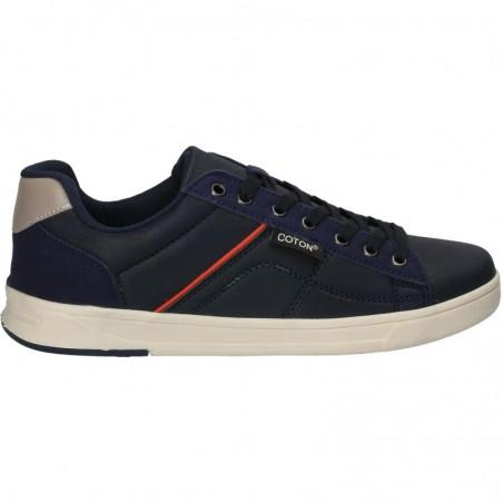 Sneakers barbatesti, bleu, in stil urban