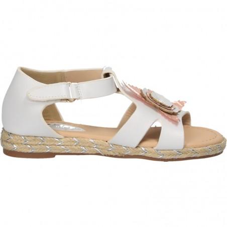 Sandale cu floare, pentru fetite