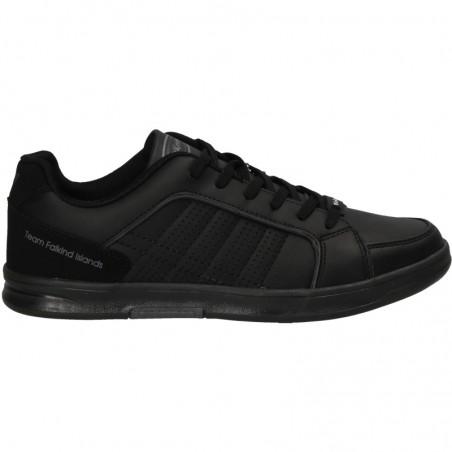 Pantofi barbatesti, negri, stil sport