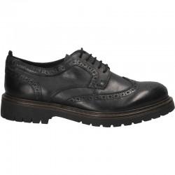 Pantofi piele, model Oxford, pentru barbati